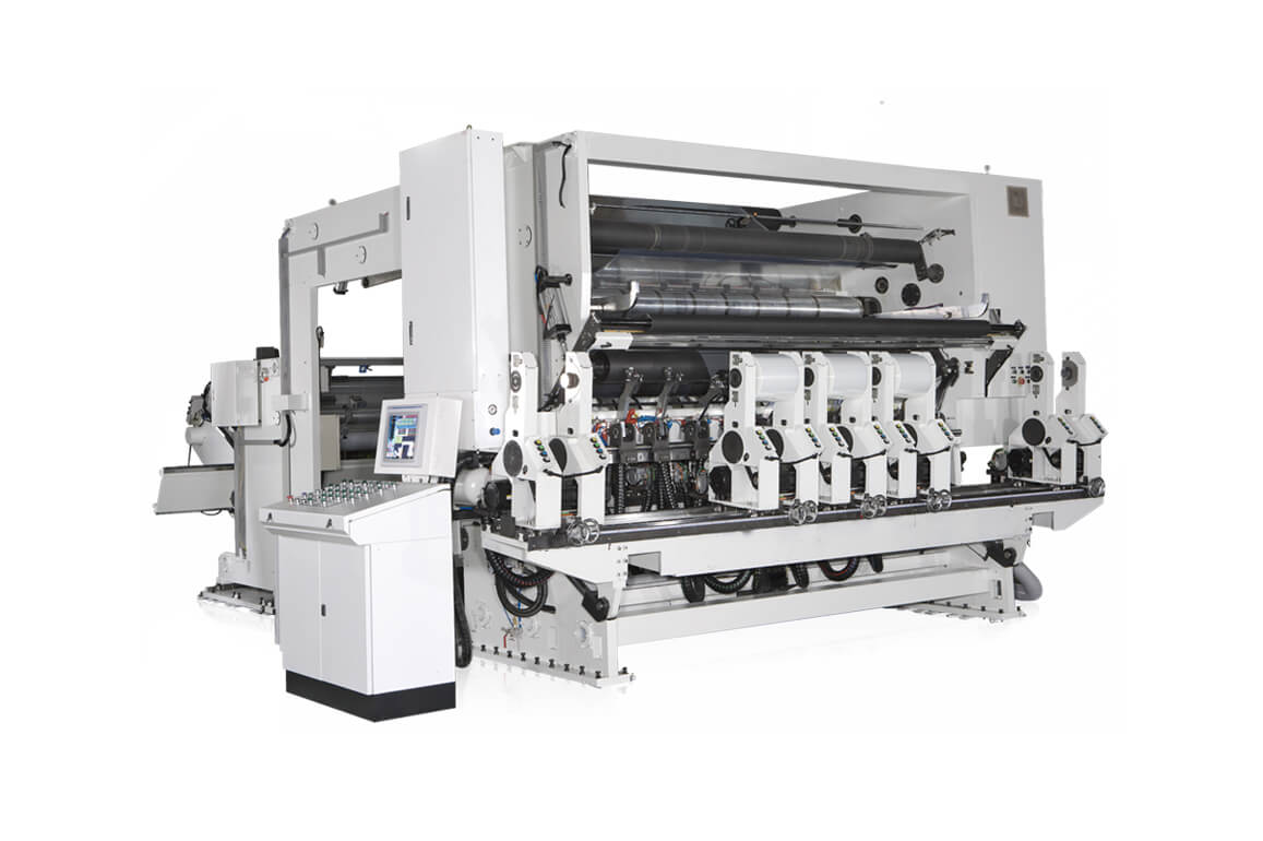 Shaftless Type, Multi-Winding-Stands, High Speed Slitting Machine