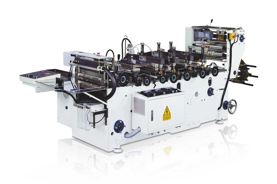 Reel to Pouch Sealing and Cutting Machine